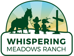whispering meadows ranch logo