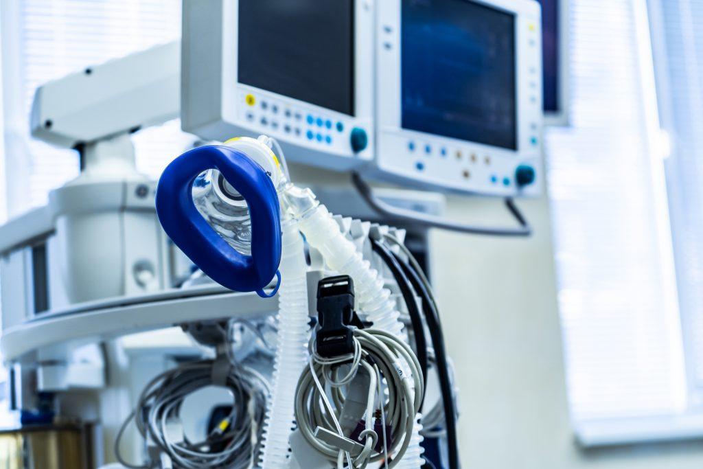Oxygen inhalation equipment in hospital